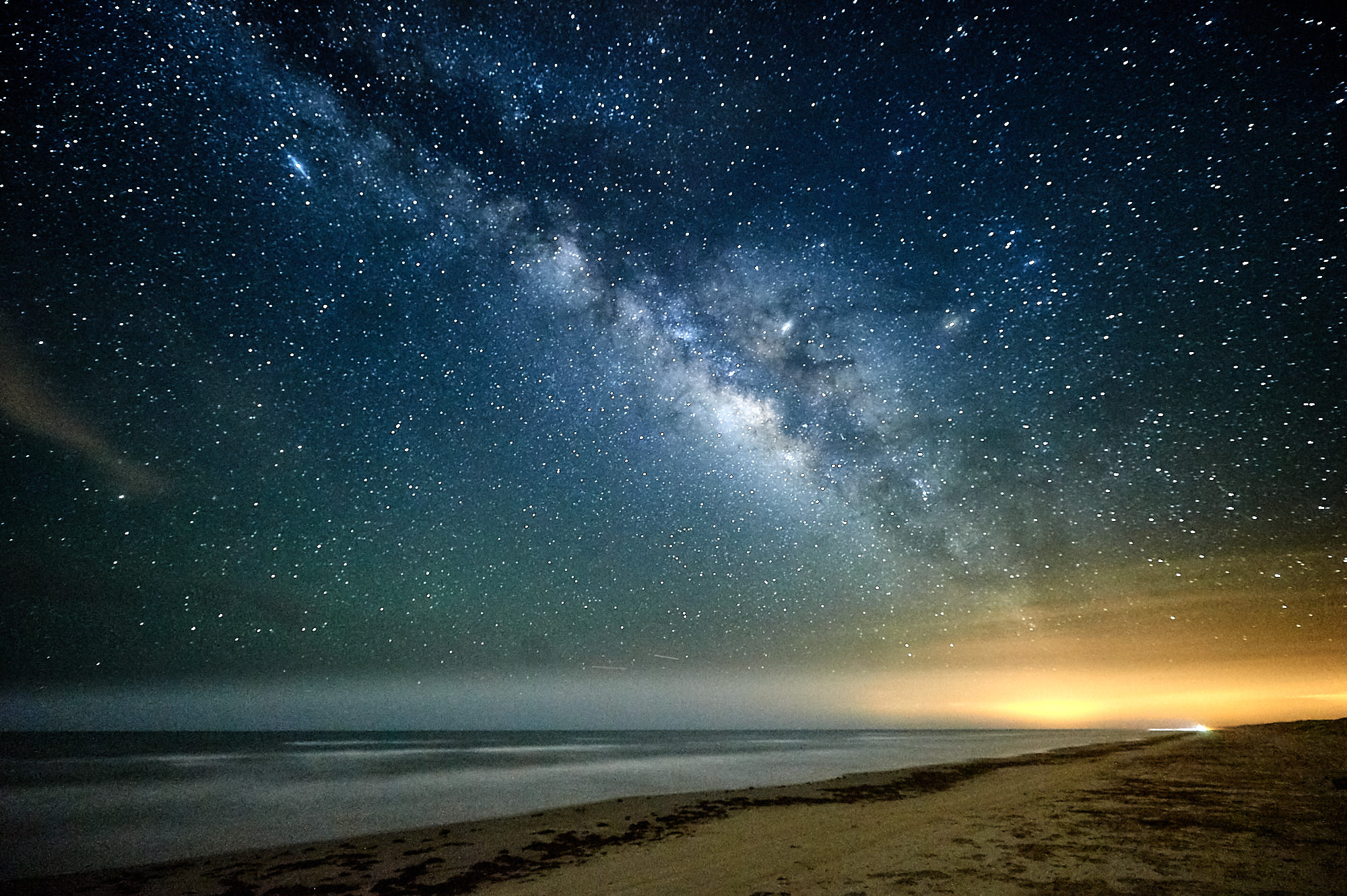 A Milky Way Photo without Clouds