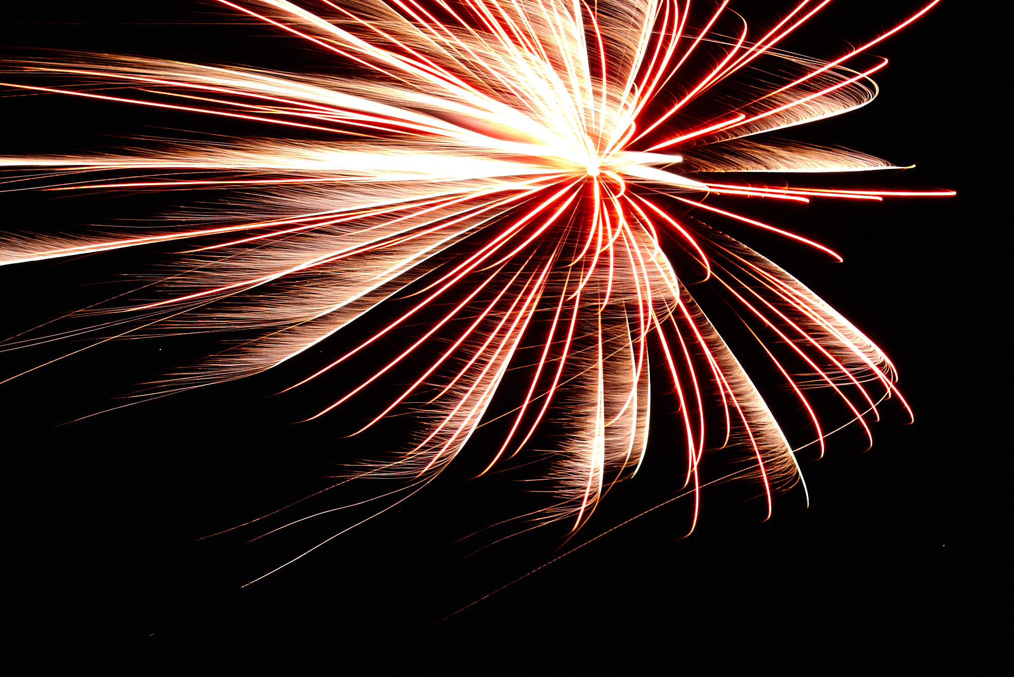 Photographing Fireworks - Proper Exposure - About Right